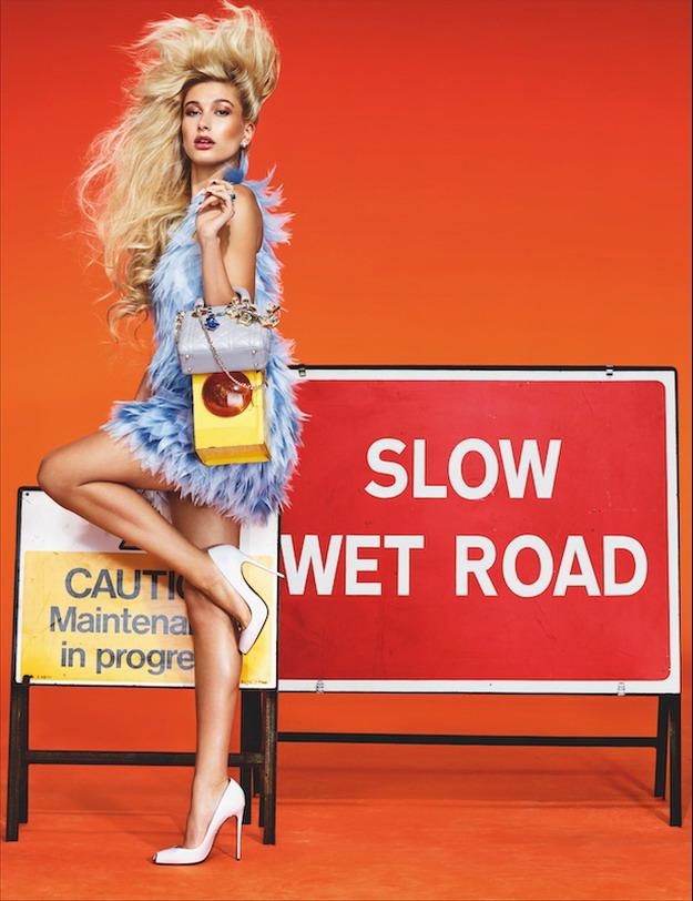 Хэйли Болдуин в Wonderland Magazine