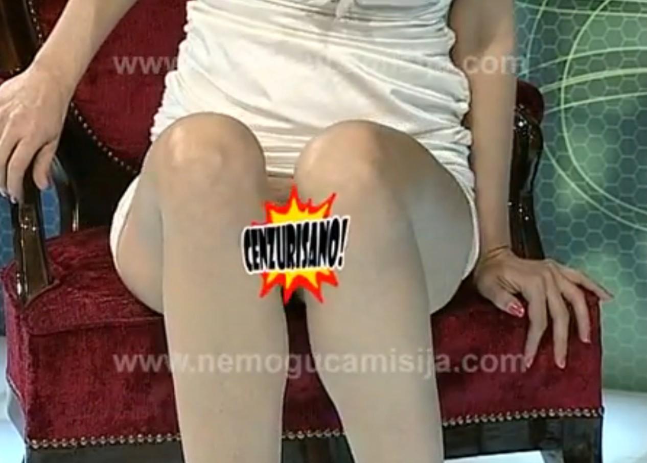 Русская телеведущая раздвинула ноги в прямом эфире 8 фотография